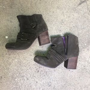 Blowfish brown high heel boots